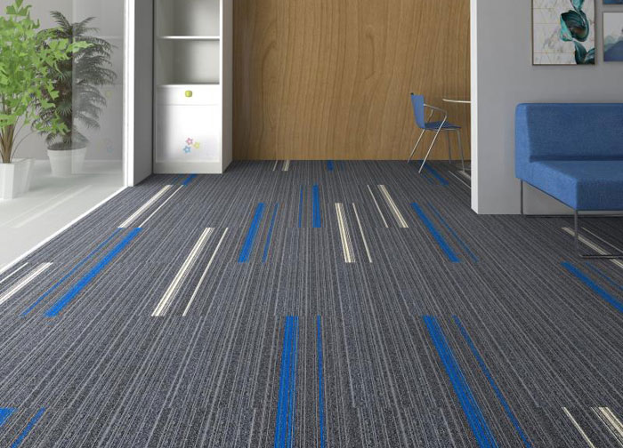Reed column carpet